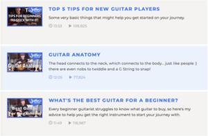 學吉他 justine guitar