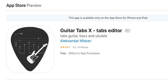 電子吉他六線譜