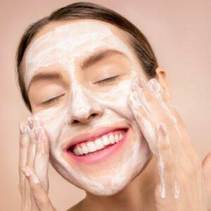 wash face correctly