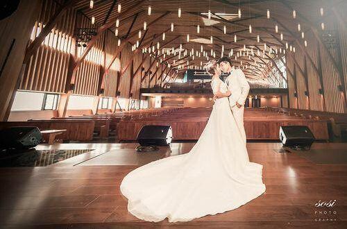 台中忠孝長老教會婚禮