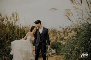 淡水婚紗外拍景點沙湖路大草原